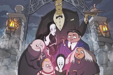 Los Locos Addams presentarán un nuevo cómic en octubre