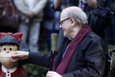 """""""Adiós, maestro"""": el mundo de la cultura despide a Quino"""