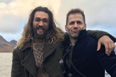 """""""¡Ven esa mierda!"""": La enérgica reacción de Jason Momoa al anuncio del Snyder Cut"""