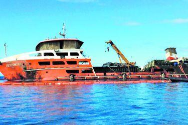 Seikongen: el barco contaminado que nadie quiere recibir
