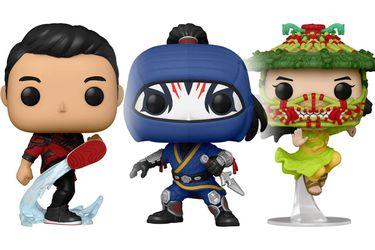 Funko Pop reveló sus nuevas figuras basadas en Shang-Chi and the Legend of the Ten Rings