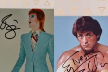 Al mejor postor: la inédita subasta chilena que oferta autógrafos de Michael Jordan, Paul McCartney y David Bowie