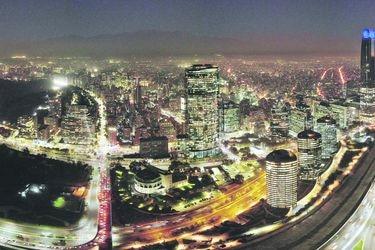 A 15 minutos de todo: menos del 2% de la población de Santiago vive con ese estándar