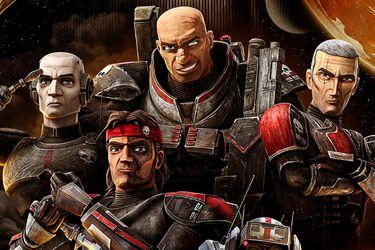 La figura del Emperador acecha a los clones en el nuevo póster de The Bad Batch
