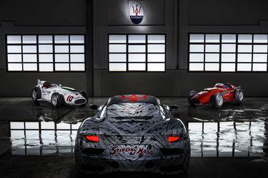 La historia pesa: Maserati dedica uno de los prototipos del MC20 a Stirling Moss