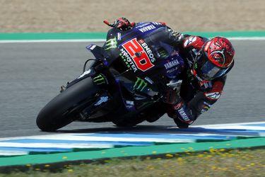 MotoGP: Quartararo se lleva la pole en un sábado marcado por la caída de Márquez