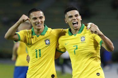 Brasil y Uruguay parten mandando en el grupo B del Preolímpico