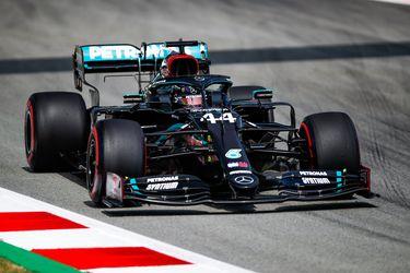 Mercedes vuelve a imponerse en las prácticas del Gran Premio de España