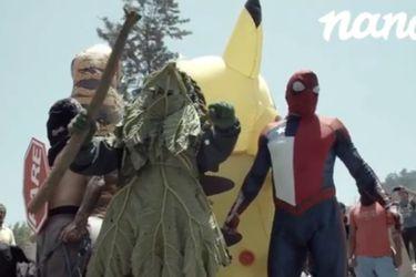 """Los """"Avengers chilenos"""" recrean famosa escena del MCU en el nuevo video de Nano"""