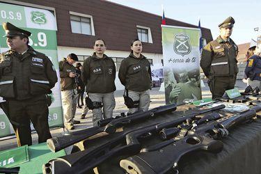 Armas con alto poder de fuego: Chile registra 7.902 fusiles en manos de civiles