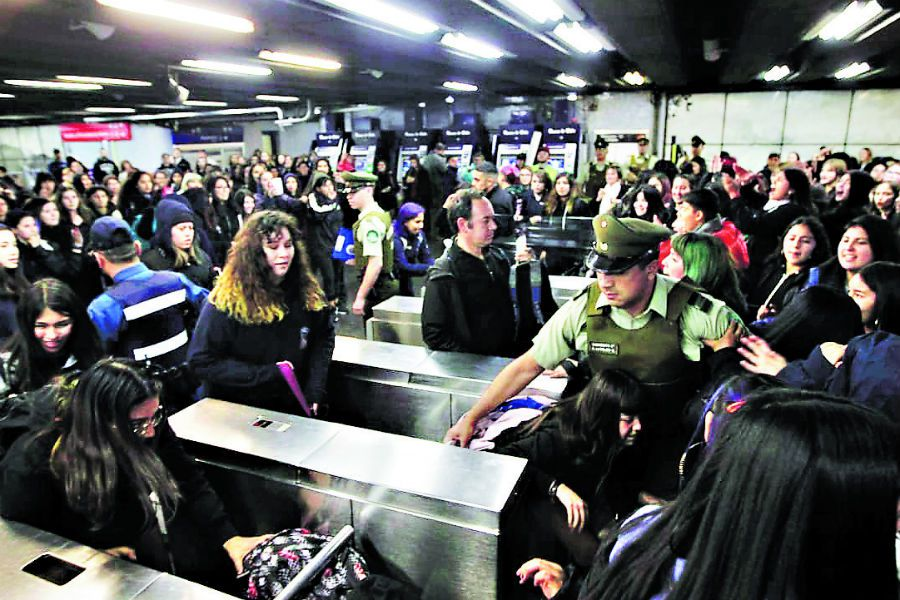 Evasión Metro