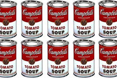 La sopa Campbell: cuando Andy Warhol masificó el arte pop