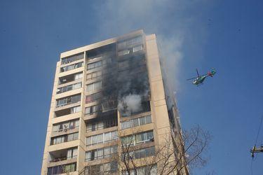 incendio edif recoleta
