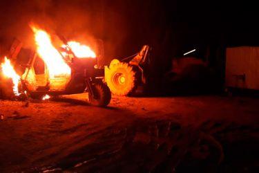 Coordinadora Arauco Malleco reivindica últimos atentados incendiarios en varias comunas de La Araucanía