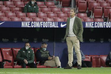 """Pellegrini mantiene la calma ante el presente del Betis: """"No estoy ansioso ni preocupado"""""""