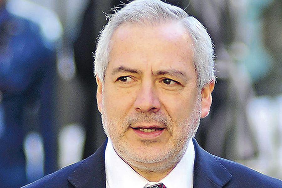 El fiscal jefe sur, Raúl Guzmán, durante la cuenta pública de la Fiscalía Nacional.