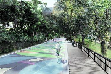 Inician obras para nuevo acceso peatonal en el Parque Metropolitano