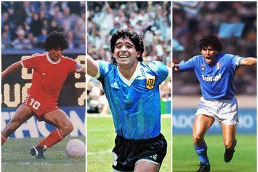 Maradona y sus 60 exquisiteces en el campo