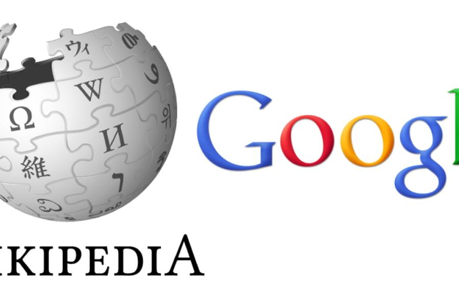 wikipedia-google