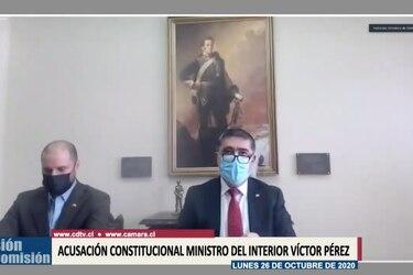 """Desbordes dice """"no compartir"""" argumentos esgrimidos en defensa de Pérez, pero afirma que no les atribuye una """"mala intención"""""""
