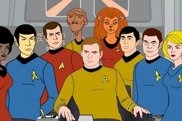 CBS All Access planea una nueva serie animada de Star Trek