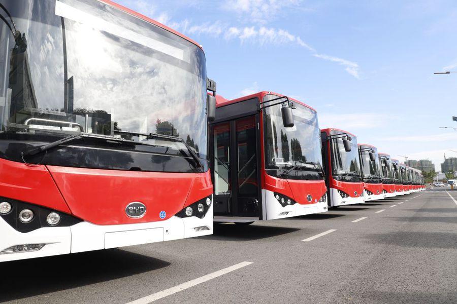BYD k9_buses Red3