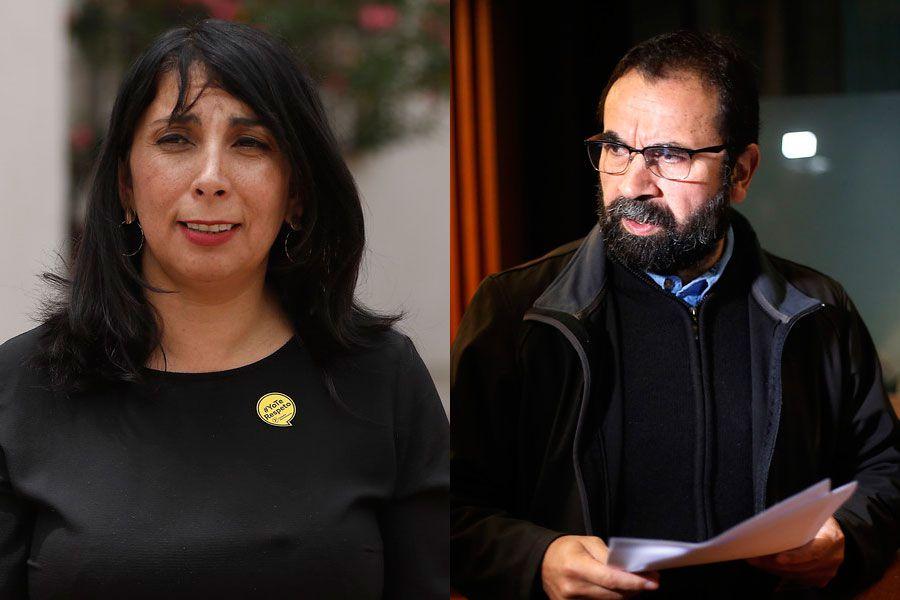 Karla Rubilar y Hugo Gutiérrez
