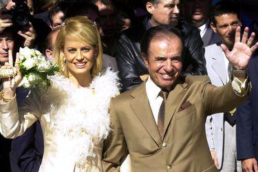 Cecilia Bolocco y Carlos Menem: un amor que empezó con un corazón Bulgari y terminó con un paparazzeo en Miami