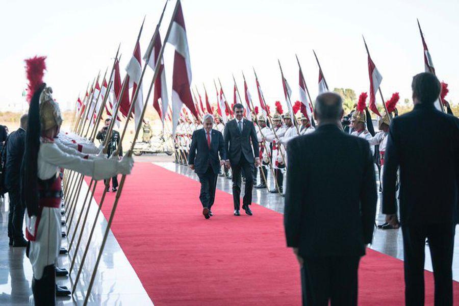 Piñera en Brasilia