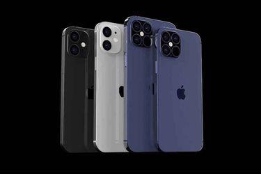 Estos serían los cuatro iPhones 12 que Apple revelaría el próximo mes