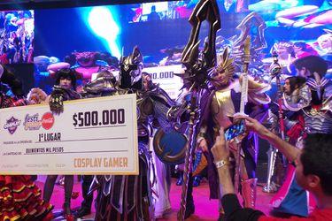 Festigame 2018: Imperius se impuso en la competencia de Cosplay