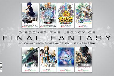 ¿PS4, Xbox One o Switch? Conoce los juegos de Final Fantasy que llegarán a cada plataforma