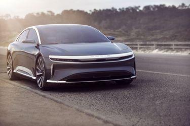 Lucid Motors introduce el definitivo sedán eléctrico Air, que llega con 1.080 Hp y más de 800 km de autonomía
