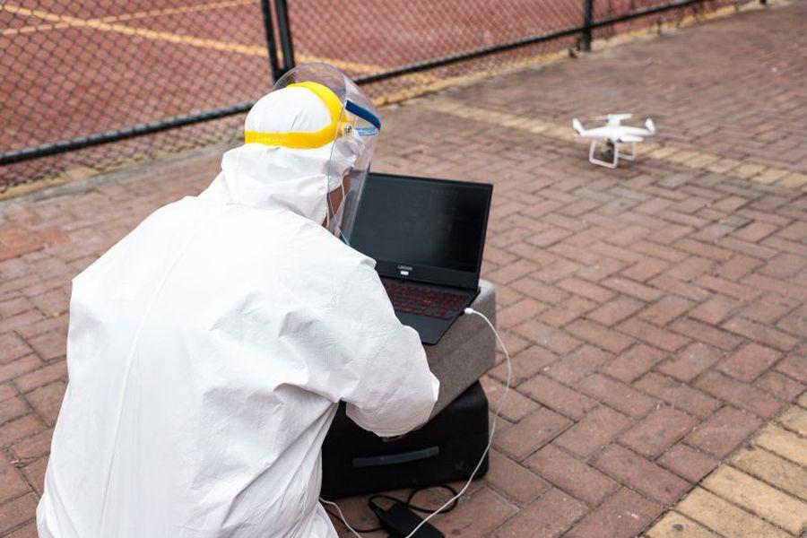 Drones Corona Virus 2