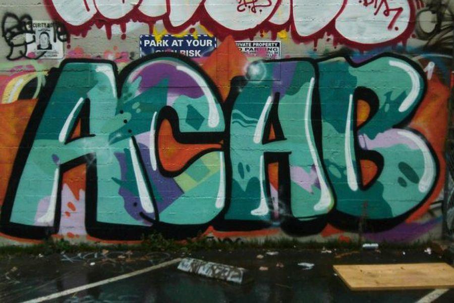 ACAB, la sigla de la polémica: una escuela de autodefensa y el Archivo  Andrés Bello de la U. de Chile - La Tercera