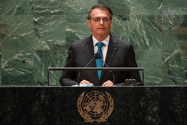 """Un diputado brasileño denuncia ante la Fiscalía a Bolsonaro por """"mentir"""" en su discurso ante la ONU"""