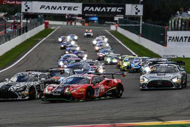 Benjamín Hites se quedó con el décimo lugar de la categoría Silver en las 24 Horas de Spa-Francorchamps