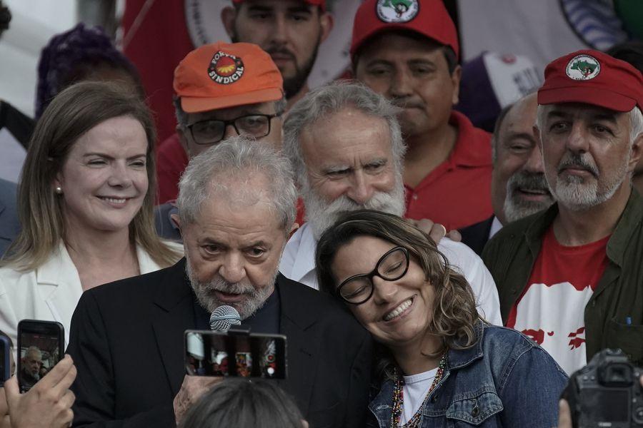 Luiz Inacio Lula da Silva,Rosangela da Silva