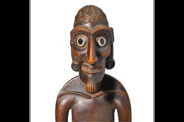 Moái kavakava, el misterioso ícono Rapa Nui que será subastado en más de 650 millones de pesos en EE.UU.