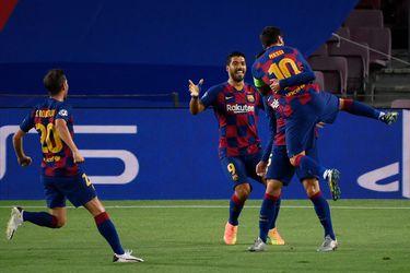 Barcelona vence al Napoli y chocará con el Bayern en cuartos