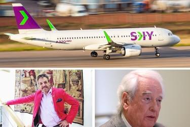 Nicolás Ibáñez, socio de JetSmart y un fondo de capital privado disputan entrar a la propiedad de SKY