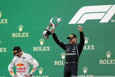 Jornada de dulce y agraz para Mercedes en Turquía: Bottas se reencuentra con el triunfo y Hamilton pierde el liderato