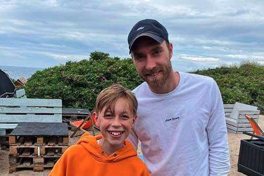 Fotografían a Eriksen por primera vez fuera del hospital  tras su paro cardiaco