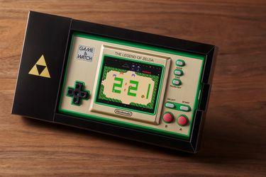 Nintendo anunció un nuevo Game & Watch con tres juegos de The Legend of Zelda