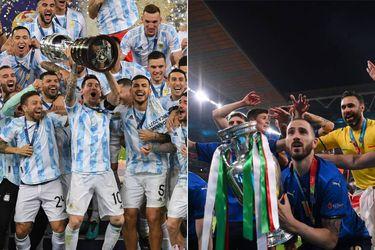 Argentina frente a Italia: ¿Quién ganaría el hipotético choque entre los campeones de América y Europa?