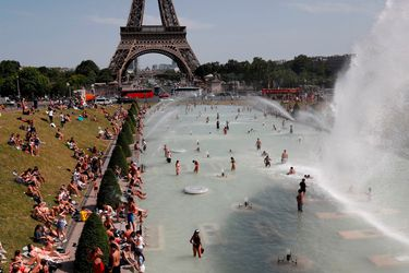 París ola de calor