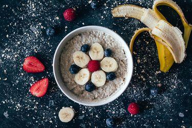 Porridge frutas