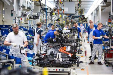 Production Of Electric And Hybrid Golf Automobiles At The Volkswagen AG Wolfsburg Plant