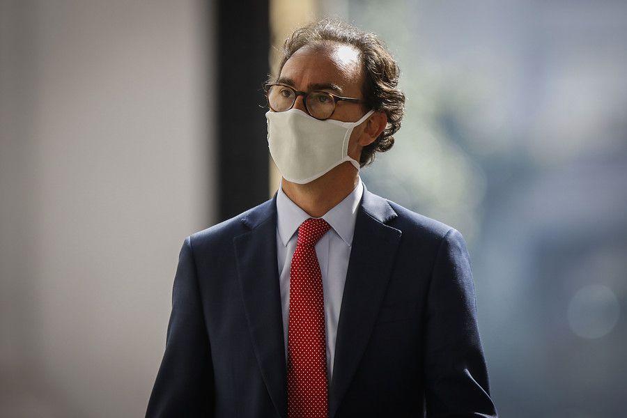 Ministro de Educacion, Raúl Figueroa.