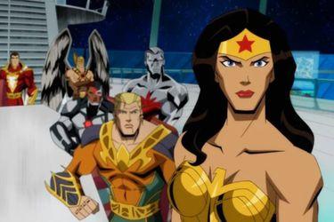 La división de la Liga de la Justicia y la tragedia de Metrópolis son parte de las nuevas imágenes de  la película animada de Injustice